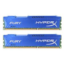 For Hyperx 16GB 2X 8GB DDR3-1600MHz PC Desktop Ram PC3-12800 DIMM SDRAM