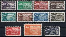 TRIESTE B 1954 Posta aerea 11v MNH**