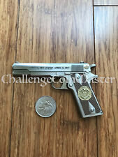 New York State Police 100th Anniversary Gun Challenge Coin Unique Odd Shaped