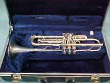 SIlver Amati Kraslice ATR 203 Trumpet in Very Good Playing Condition