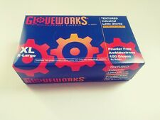 Glove Works Industrial Latex, Powder Free Gloves Size Xl, L & Med. 100 Ct.