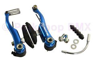 Dia-Compe MX2 MX-2 VC-733 V-brake bicycle brake for BMX or MTB - DARK BLUE