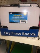 Dry Erase Board & Marker/Eraser - Jot Brand - 8.5