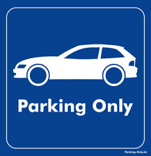 Parking Only - BMW Z3 Coupe - Aufkleber