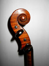 Old Vintage Antique 1 Pc Quilted Maple Back Full Size Violin - No Reserve