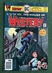 House of Mystery #242 DC Comics Bronze Age monsters ghosts unexpected g/vg