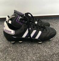 Rare 1998 Adidas FX 300 Football Boots Vintage Deadstock Size 5.5 Purple Black