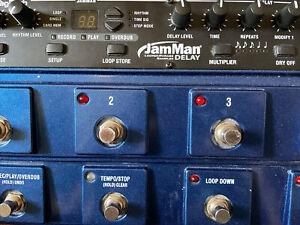 DigiTech JamMan Delay Pedal Looper Phrase Sampler JMD