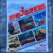 Sachet Plastique Majorette Serie 3000 1980 Voiture Miniature Emballage Vintage