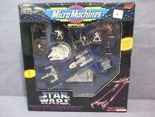 Star Wars MicroMachines GALAXY BATTLE COLLECTORS SET Miniatures Galoob 1994