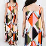 UK 8-26 Womens Ladies Summer Beach Maxi Dress Holiday Strappy Button Sun Dresses
