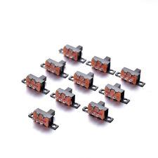 10 Pcs On-off Slide Switch Mounting Switch Mini Micro Electronic Switch 3 Pins