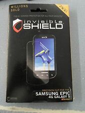 ZAGG InvisibleSHIELD For Samsung Epic 4G Galaxy S - Screen Protector Brand New