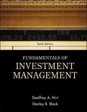 Fundamentals of Investment Management by Hirt & Block - 10th Edition