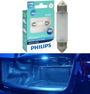 Philips Ultinon LED Light 578 Blue 10000K One Bulb Trunk Cargo Replace Stock OE