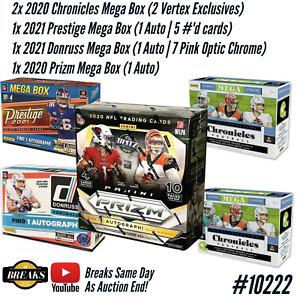 ARIZONA CARDINALS 2020 PRIZM CHRONICLES 2021 DONRUSS 5 BOX BREAK CASE #10222