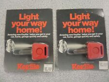 KEYLITE WEISER WR5 HOUSE KEY BLANK WITH LIGHT LOT OF 2