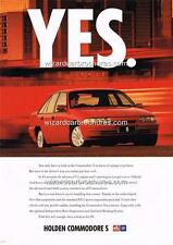 1992 HOLDEN COMMODORE VP S A3 POSTER AD ADVERT ADVERTISEMENT SALES BROCHURE