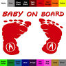 Baby On Board Sticker - Safety Acura Decal