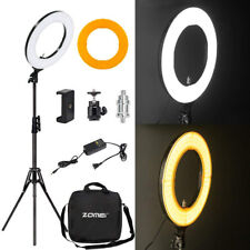 14''  Ring Light Kit with Stand Dimmable SMD LED 5500K for Makeup Phone Camera