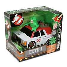 Ghostbusters ECTO-1 Vehicle Slimer Figure Authentic Gear LED Lights Toy Car New