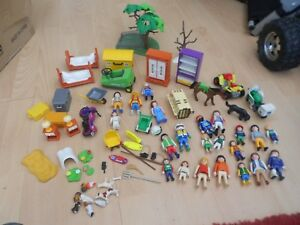 PLAYMOBIL BUNDLE  WITH 22 FIGURES - SOME LITTLE BITS MISSING