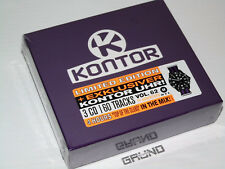 3 CD-BOX: KONTOR Top Of The Clubs Vol.62, Limited Edition, NEU & OVP (B4/13)