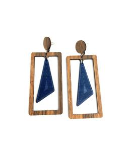 Ethnic Wooden Earrings / Ladies Wooden Earrings / Ladies Wooden Gift