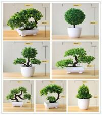 Artificial Bonsai Green Plant-Small Bonsai Tree Decorator For Home ,Hotel & Gift