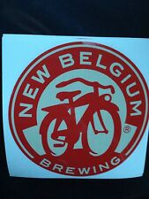 Fort Collins NEW BELGIUM BREWERY BEER STICKER Colorado Brew Brewing CO Fat Tire
