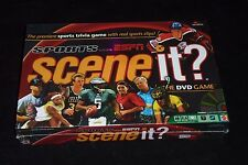 NEW SEALED ESPN Sports Scene It DVD Game NFL NBA MLB NHL Pro Sports Television