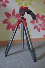 Stativ Manfrotto Compact Action - ROT inkl. Original Tragetasche