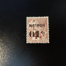 France Colony Martinique No 8 New **Luxury Original Gum MNH Side Maury 38€