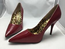 David Dalrymple For House Of Field Heels Shoes Size 12W Red Stock# 369608 NIB