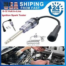 Ignition System Coil Engine In Line Auto Diagnostic Test Tool Spark Plug Tester