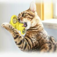 Cat Turning Windmill Turntable Tickle Cat Toy Scratch Hair Brush Pet A4V3