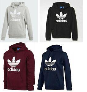 Mens Adidas Originals Trefoil Pullover Hoodie