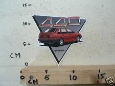 STICKER,DECAL VOLVO 440 RED CAR AUTO