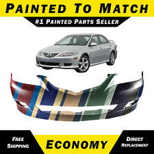 New Painted to Match - Front Bumper Cover Replacement for 2003-2005 Mazda 6