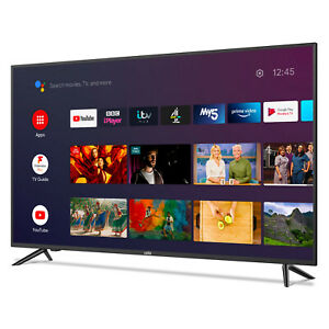 """CELLO 50"""" INCH 4K SMART ANDROID TV WiFi GOOGLE ASSISTANT & FREEVIEW PLAY 4 HDMI"""