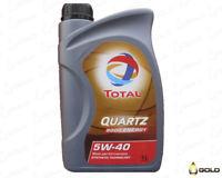5W 40 Total Quartz 9000 Energy 1 Liter Motoröl Porsche