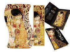 Gustav Klimt Schale Der Kuß 1.Wahl Glasschale 10x18cm Platte + Lesezeichen Kuss