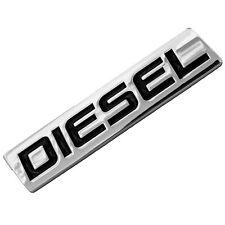 CHROME/BLACK METAL DIESEL  ENGINE MOTOR SWAP EMBLEM BADGE FOR TRUNK HOOD DOOR