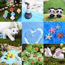 Craft Resin Garden Miniature Figurine Plant Pots Ornament Fairy Dollhouse Decor