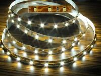 S332 - 1 Stück 100cm LED Beleuchtung 60 LEDs WARMWEIß Häuser Waggons RC Modelle