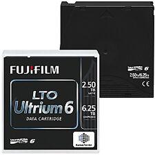 FUJI LTO6 16310732 ULTRIUM 2.5TB 6.25TB LTO-6 TAPES FUJI WARRANTY 50 PACK NEW