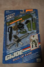 GI JOE HALL OF FAME GREEN BERET WEAPONS ARSENAL M-16 LAUNCHER SHOOTS VINTAGE
