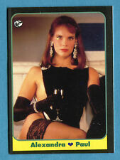 LE BELLISSIME -Masters Cards 1993 -n. 118 - ALEXANDRA PAUL - TELEVISIONE -New
