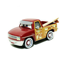Disney Pixar Movie Cars Toy Car Diecast Red John Lassetire Surfing Safari
