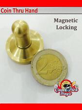 Coin Thru Hand Magic Two Euro – Coin Through Hand Close Up Magic Coin Trick 2 Eu